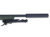 Remington 700, 300 Blackout , AR-magazine conversion with Shaw H-Barrel in 16.5 length with 1x7 twist, Gemtech Can , Hogue stock